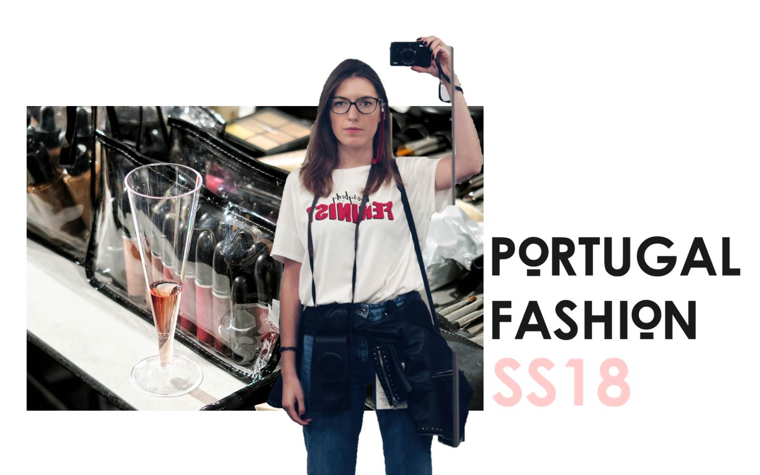 liliana marques; make-up; blogger; portugal fashion ss18