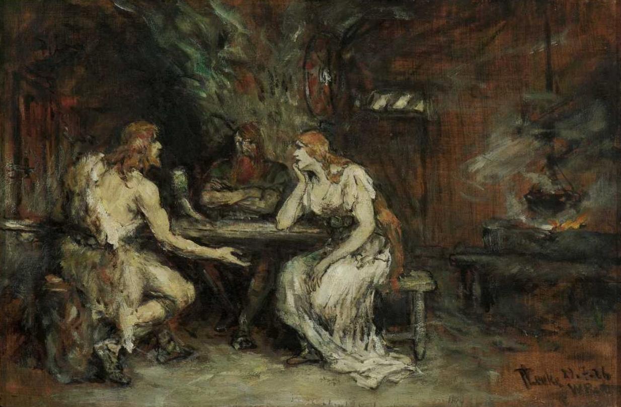 Romanticismo Y Tradicion Ferdinand Leeke Ilustrador