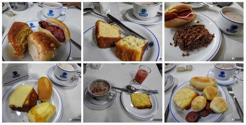 Onde ficar em Fortaleza - café da manhã do hotel Aquarius