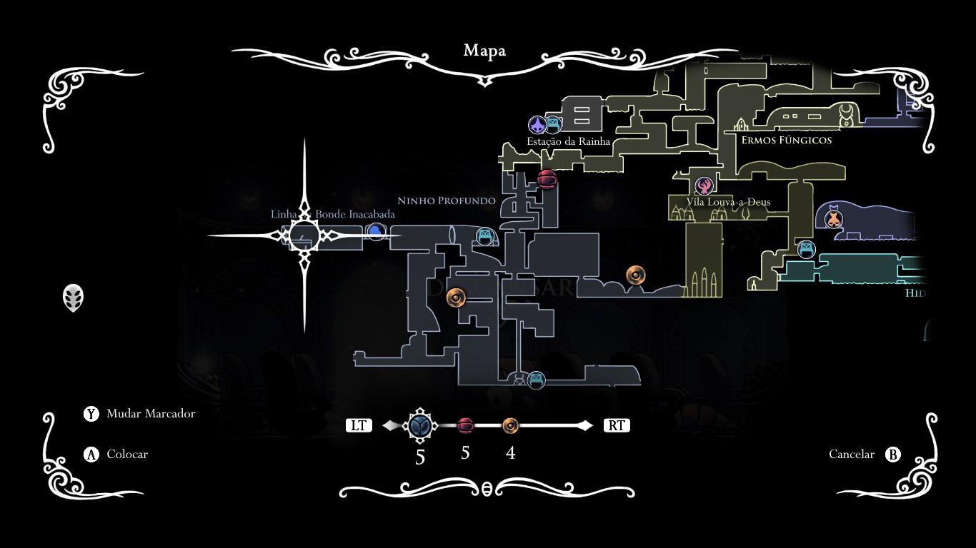 Mapa Completo Hollow Knight.Hollow Knight Switch Dicas Para Sobreviver Aos Perigos De