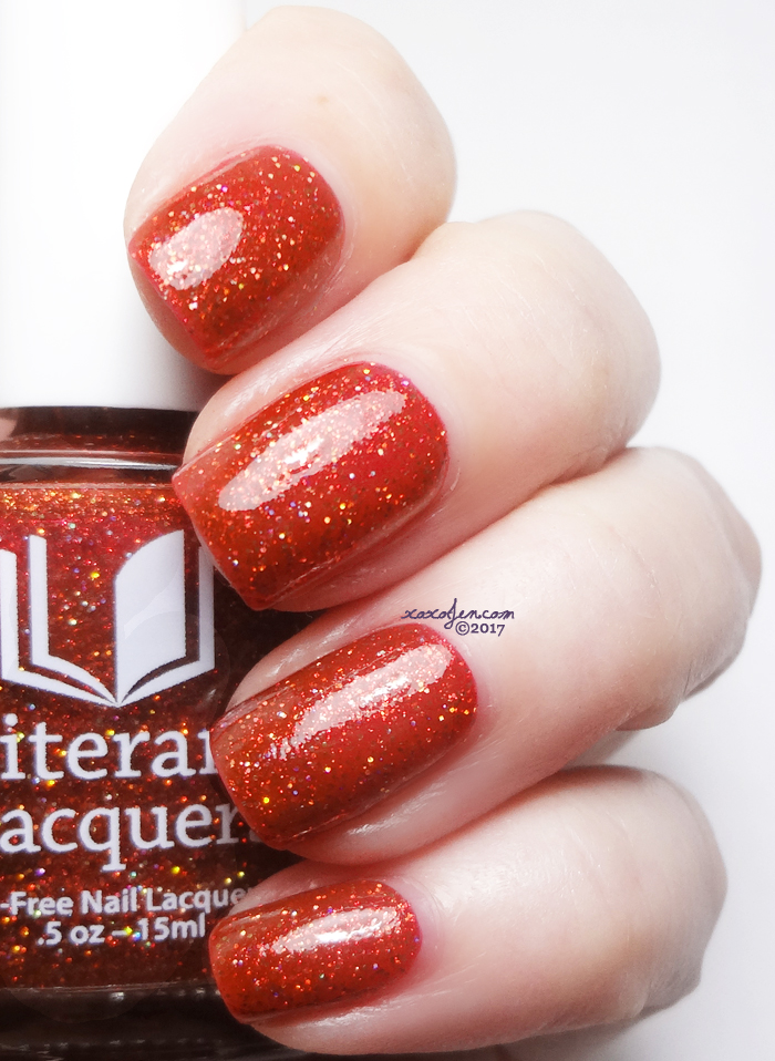 xoxoJen's swatch of Literary Lacquers Six Impossible Things