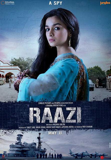 poster Raazi 2018 Movie Free Download New HD Cam x264