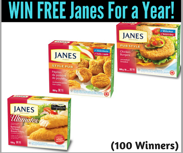 Enter to Win Janes Products For a Year