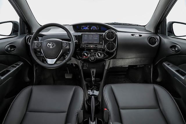 Toyota Etios XS 1.5 Automático - R$ 2.710 mais barato que o Argo 1.3 GSR
