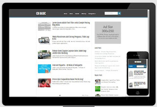 CB Basic - Template Blog Simple SEO Friendy Terbaru