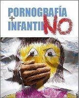 Banner de cybercampaña 2010 contra la pornografía infantil