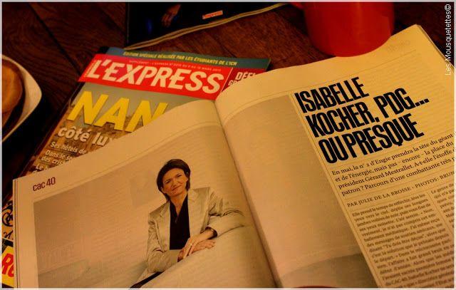 L'Express, nouvelle formule - Blog Les Mousquetettes©