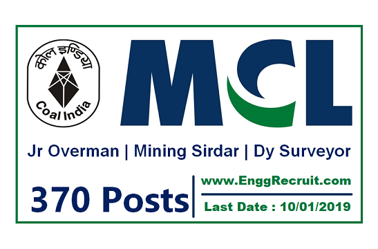 MCL Recruitment 2018