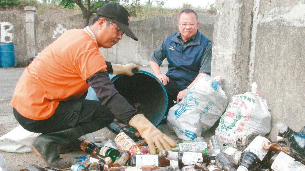 雲林縣二崙鄉公所,資源回收模範生,垃圾變黃金年賺200萬