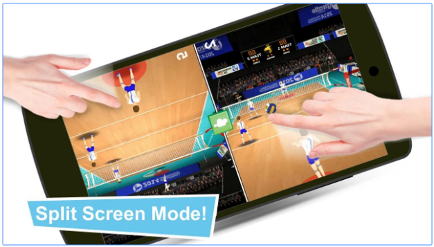 volleyball champions 3d android game
