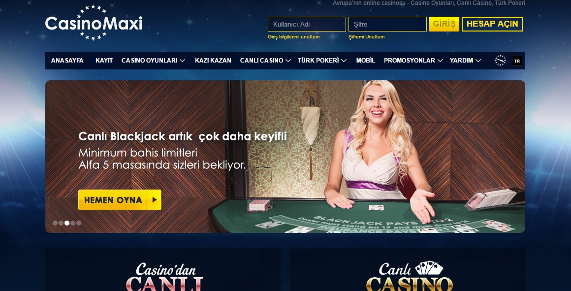 Mobil blackjack oyna