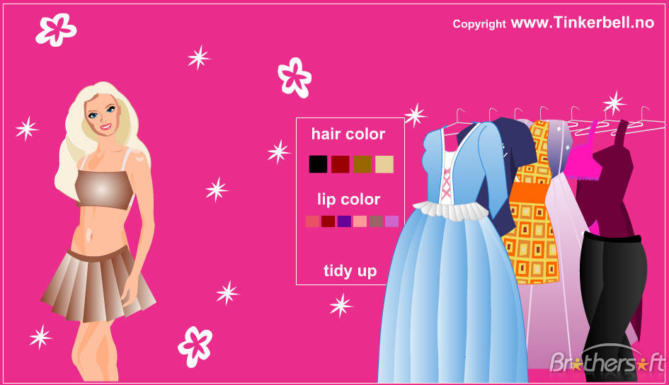 Dress Up Games Fashion For Faith In Four Colors