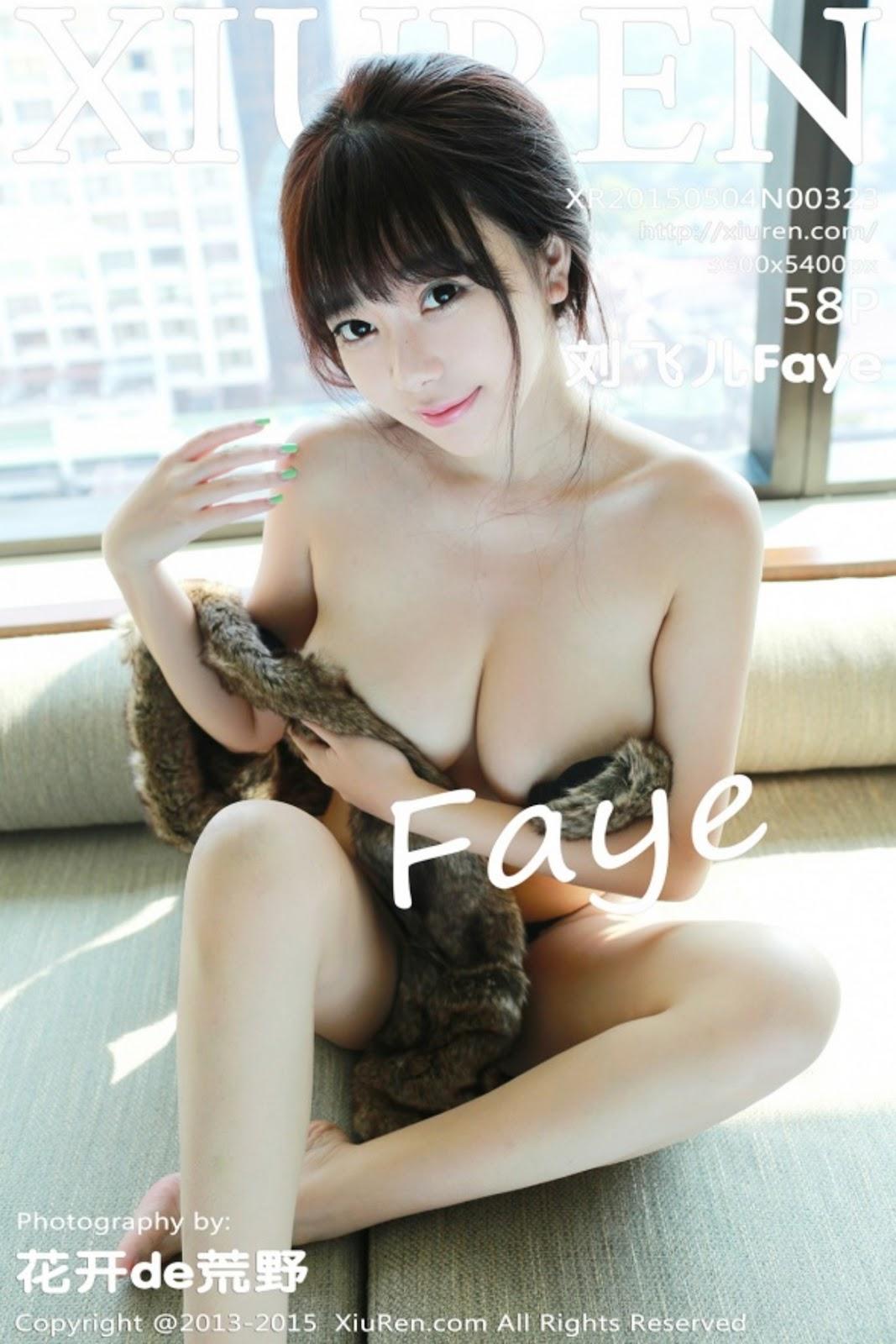 cover323 - Beautiful Nude Girl XIUREN NO.323 FAYE