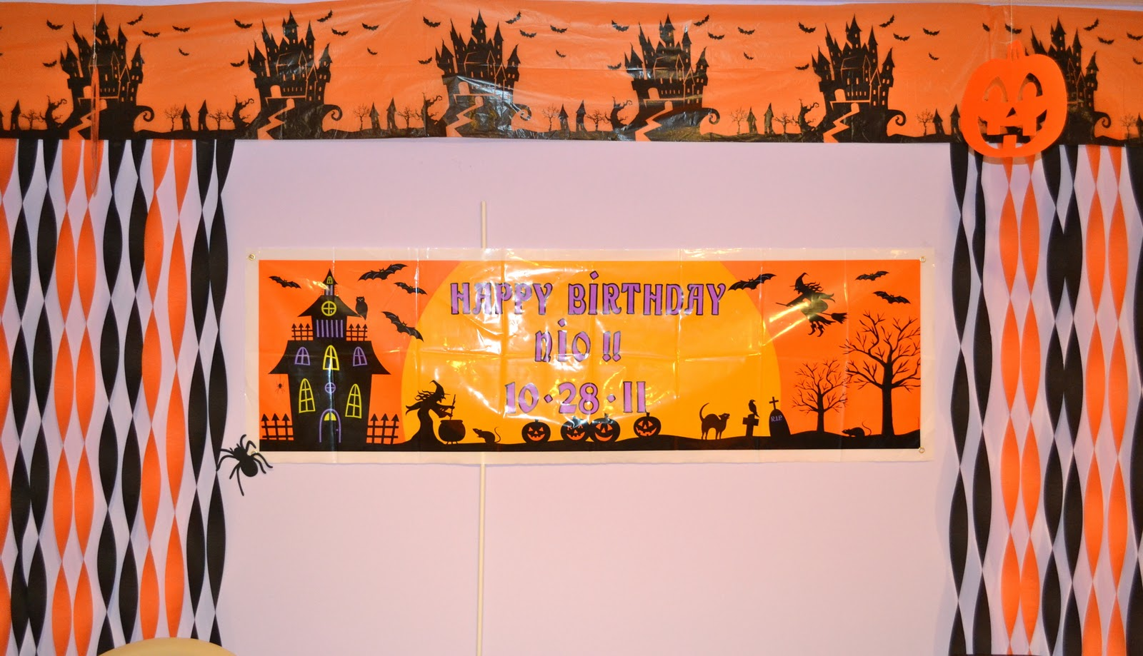 Life Home at 2102 Nio39s 11th Halloween Birthday Party