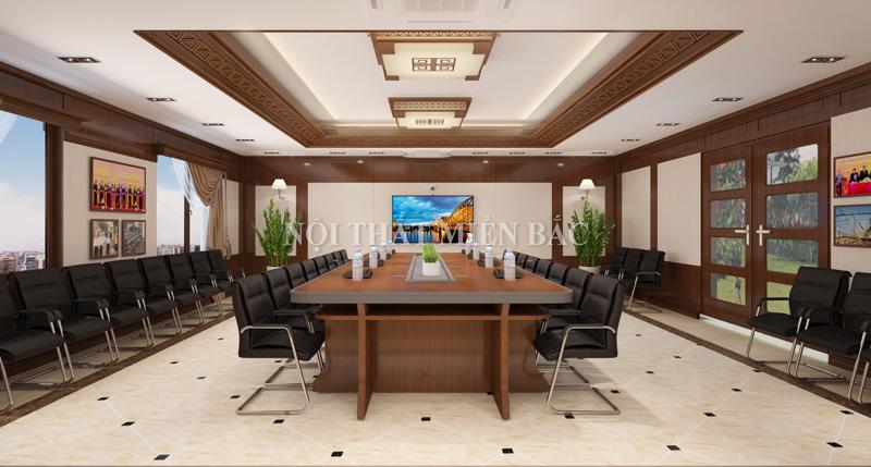 Thiết kế nội thất phòng họp đẹp chuyên nghiệp - H1