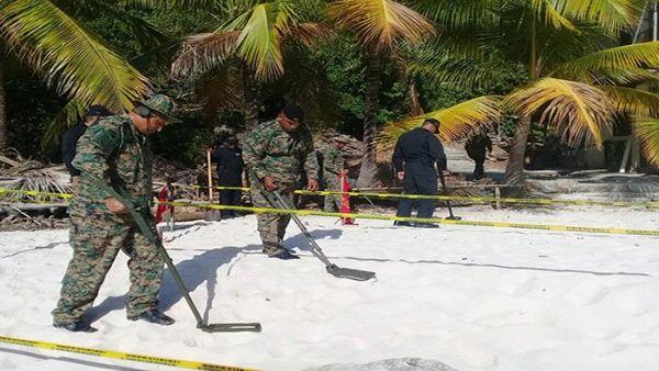 Encuentran bombas abandonadas por Estados Unidos en Panamá
