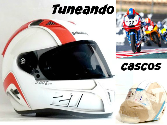 tunear y customizar cascos de motos