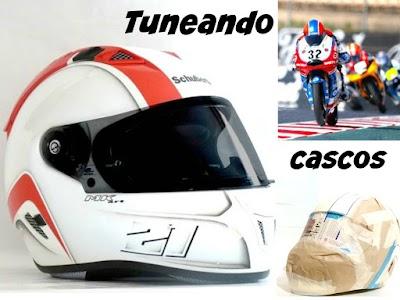 Como tunear cascos de moto paso a paso personalizandolos