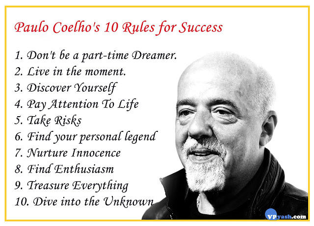 Paulo Coelho's 10 Rules for Success