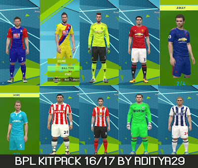 BPL Kitpack Season 16/17 by Aditya29