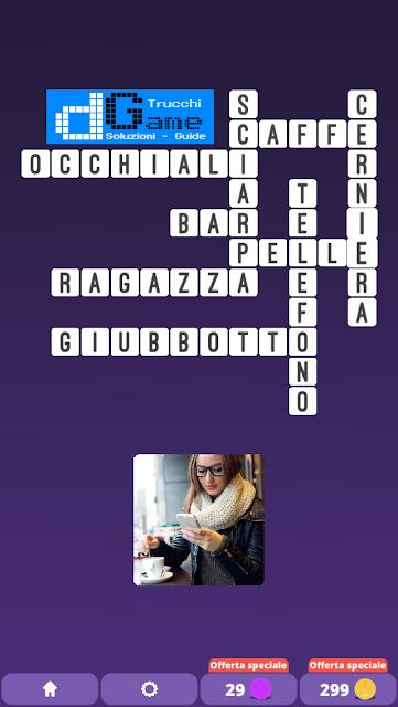 Soluzioni One Clue Crossword livello 15 schemi 5 (Cruciverba illustrato)  | Parole e foto
