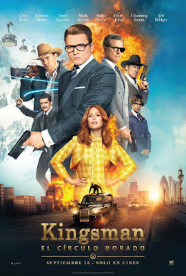 Kingsman The Golden Circle 2017 DVD Custom WEBRip NTSC Dual Latino 5.1