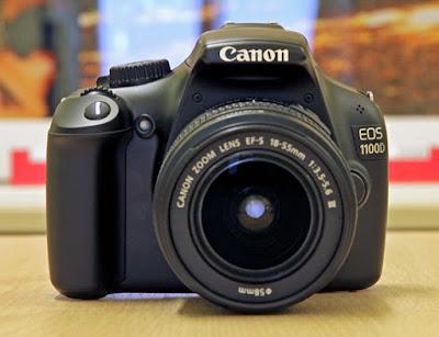 Gambar Foto Harga Kamera DSLR Canon EOS 1100D