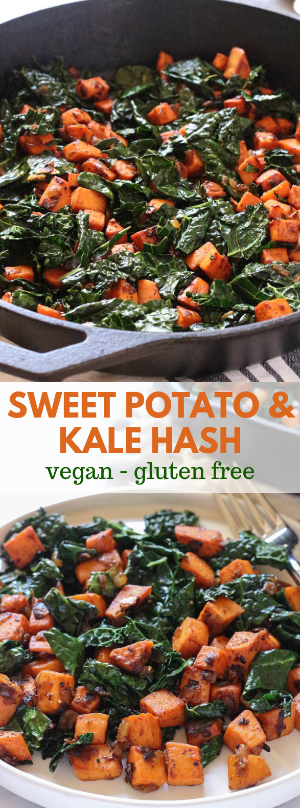 Sweet Potato and Kale Hash #healthy #food