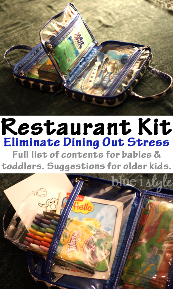 Restaurant Kit for Dining Out with Kids