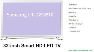 Samsung UE32F4510 review
