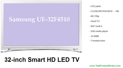 Samsung UE32F4510 review