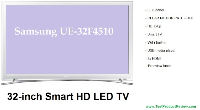 Samsung UE32F4510 32-inch Smart HD LED TV price and review