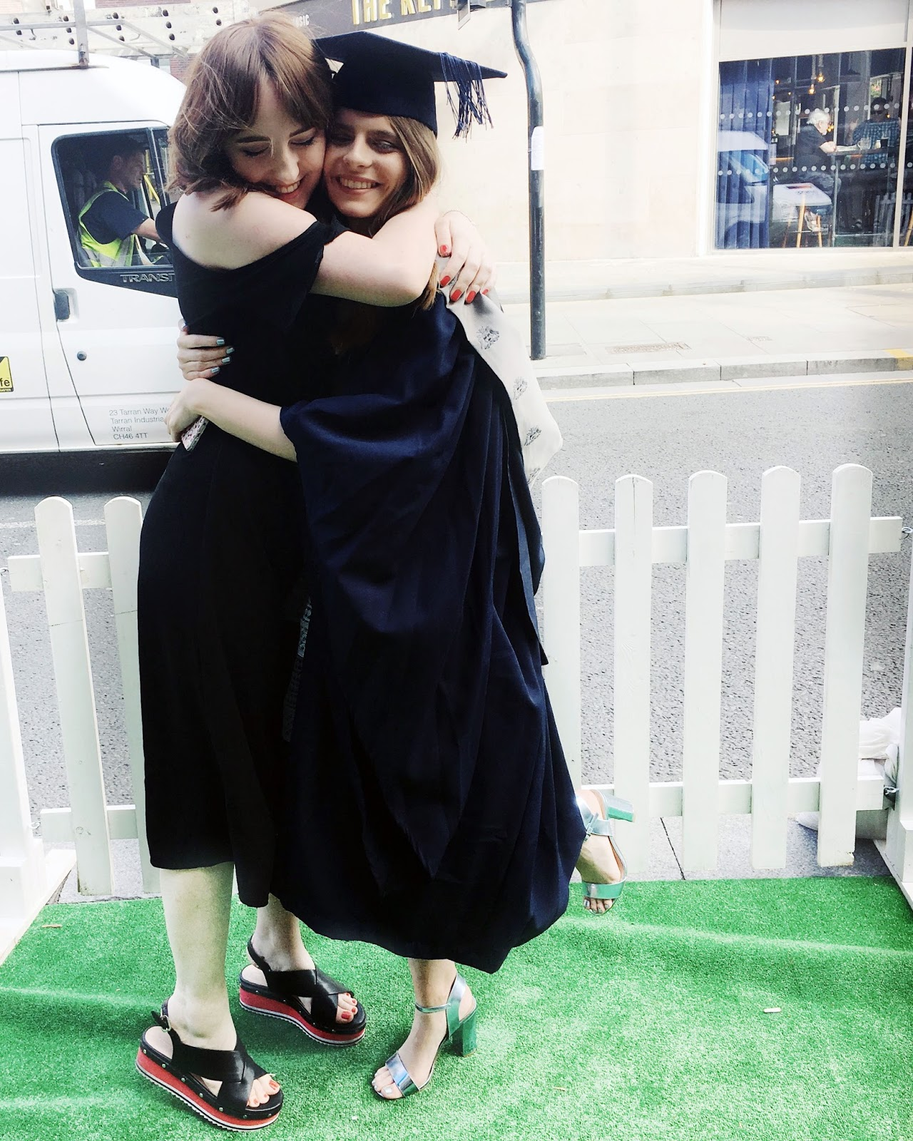 best friends graduation