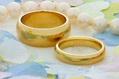 Cheap 18 Carat Gold Wedding Rings