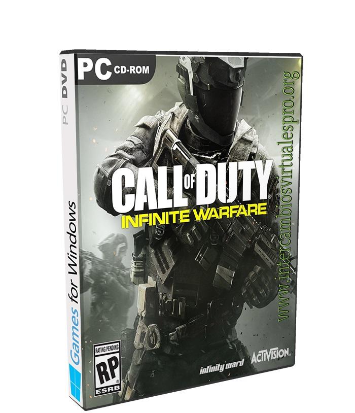 Call of Duty Infinite Warfare poster box cover