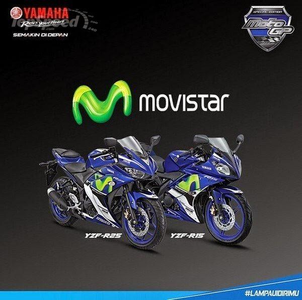 Edisi Istimewa Yamaha YZF-R25 Dan Yamaha YZF-R15 2015 Di Indonesia