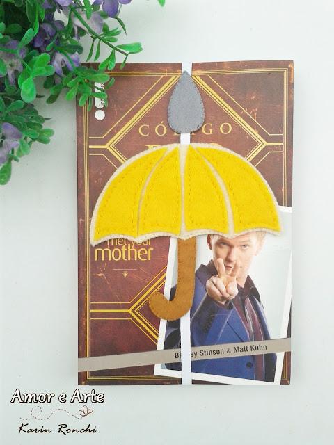 Guarda-Chuva Amarelo, marcador de páginas
