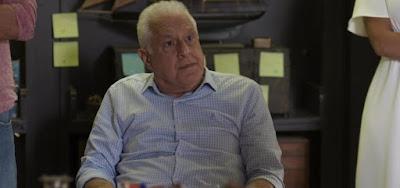 Alberto (Antonio Fagundes) em cena da novela das sete da Globo; empresário viverá aventura para realizar sonho