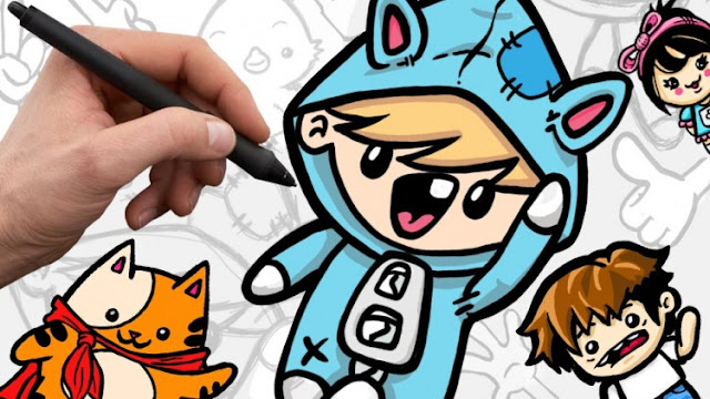 how to draw cute cartoon characters udemy download