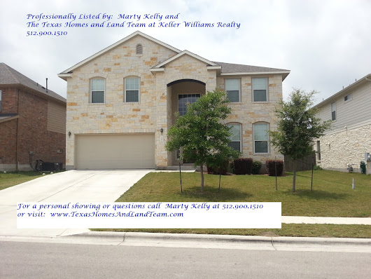 FOR LEASE - 108 Fred Couples Dr Round Rock TX by Marty Kelly and The Texas Homes And Land Team - 512 Crew