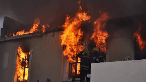 Incêndio estranho devorou os arquivos do Judiciário na província onde foram denunciados escândalos econômicos da presidente.