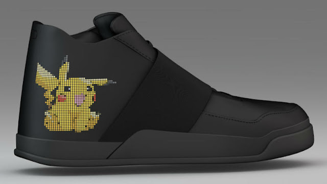Sepatu Cerdas Penangkap Pokemon