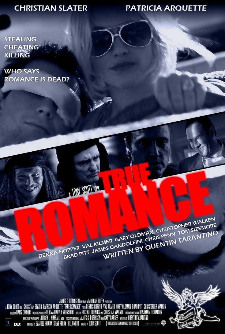 True Romance Movie Poster Art