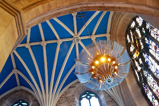 edinburgh visit st giles cathedral ceiling