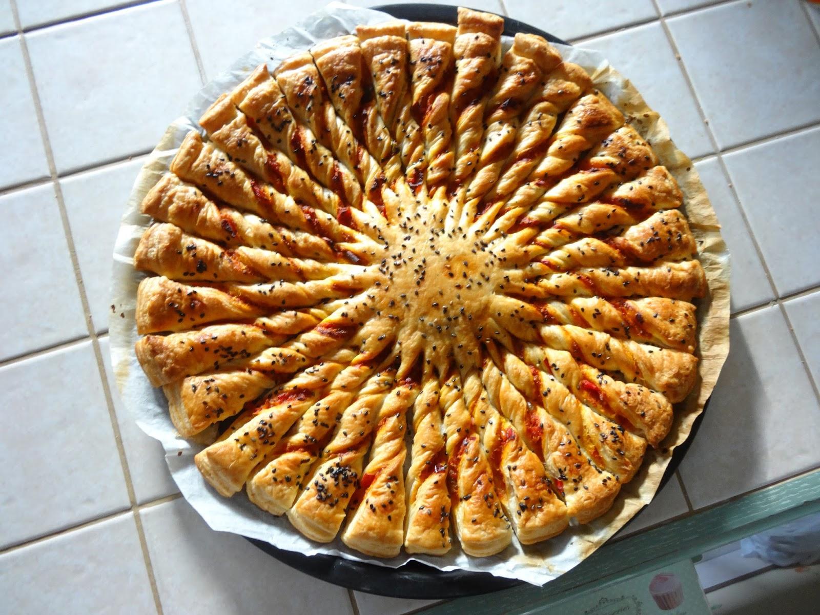 A d m nage en cuisine tarte soleil poivron s same for Soleil en cuisine