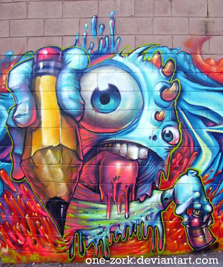 Cool Graffiti Art