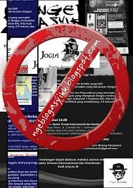 Contoh Tampilan template Blog yang Pasang Iklan Ngawur atau sembarangan