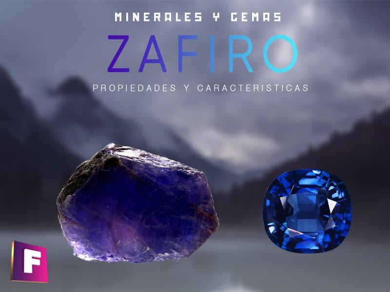 el zafiro es una variedad de corindon y posee muchas variedades y tambien falsificaciones.