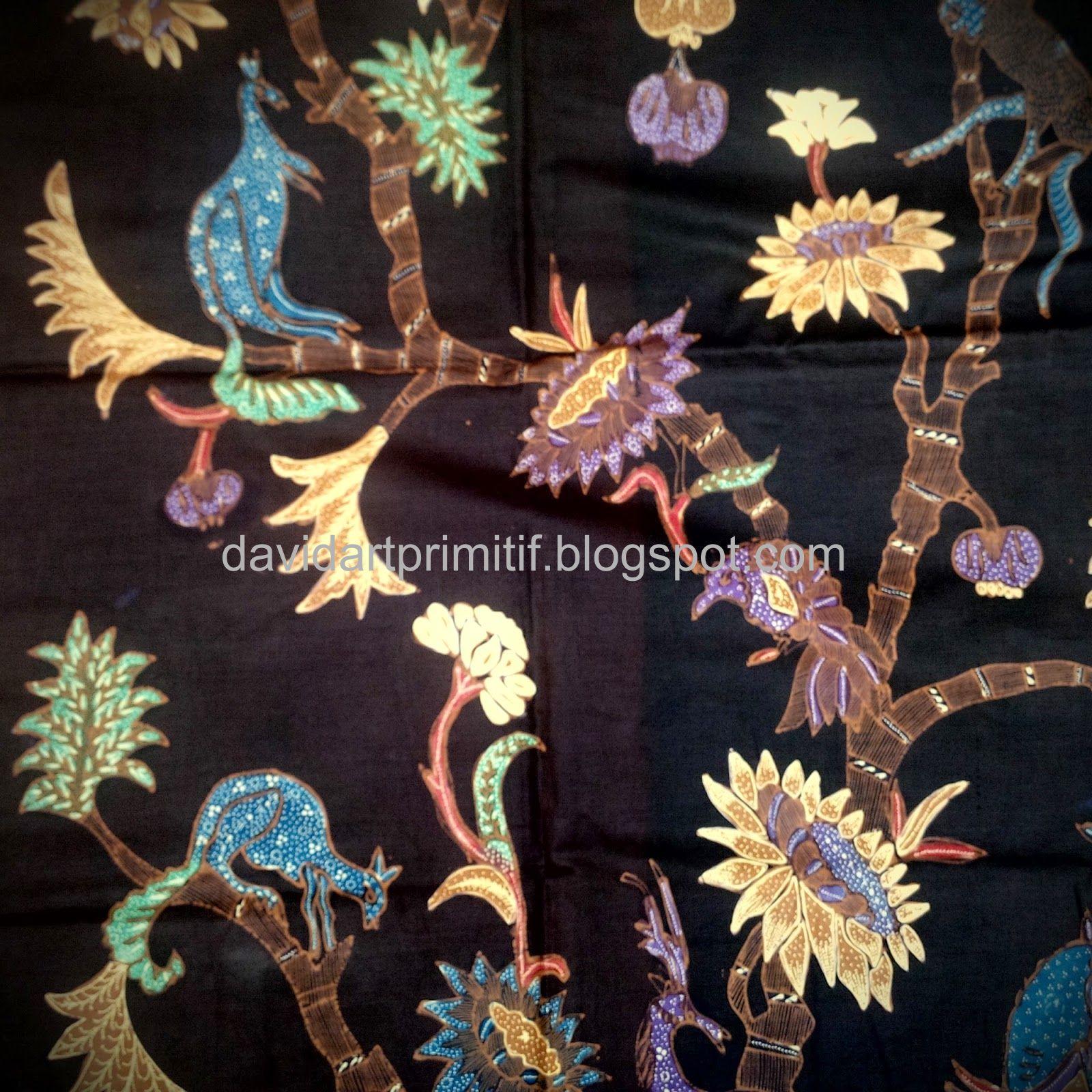 4 Penemu Batik Tulis: Art & Primitif: Kain Batik Tulis Garoet Lawasan Motif Alas