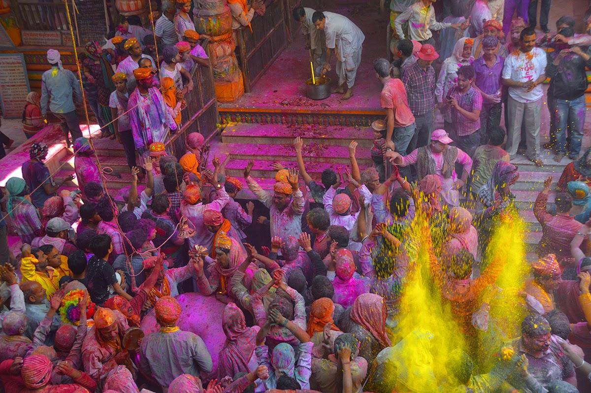 Image result for dwarkadhish temple holi hd